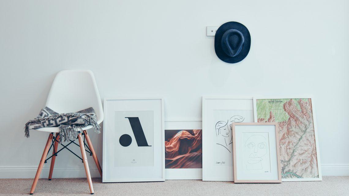 Pynt hjemmet op med kunst plakater købt på nettet