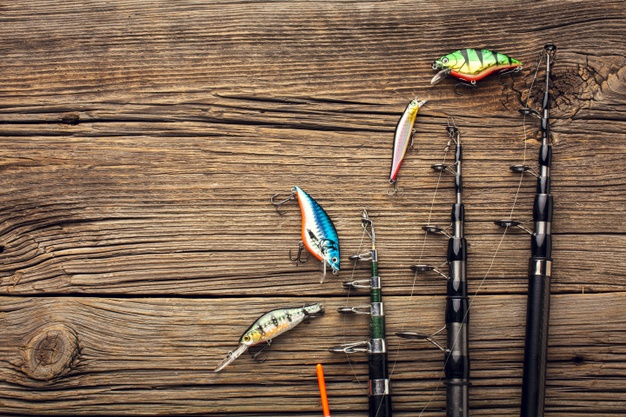 Her finder du alt det fiskegrej, som du skal bruge, for at komme ud på en god fisketur!